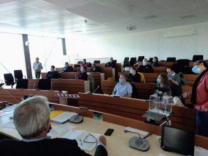 Réunion du Groupe technique Procédés et production, animé par la Chambre d'agriculture de l'Aube